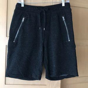 H & M Black Sweat Shorts Small